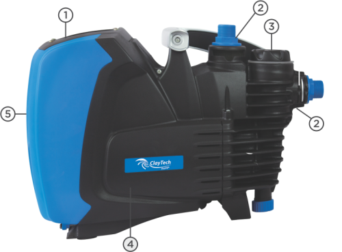 Claytech Epump Variable Speed